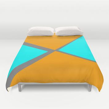 Pastel #9 Duvet Cover by Bruce Stanfield