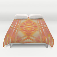 Greca 4x4 Extended version Duvet Cover by Bruce Stanfield