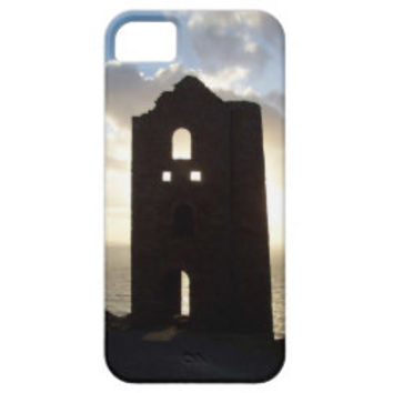 Wheal Coates Mine Cornwall England Sunset iPhone 5 Cases
