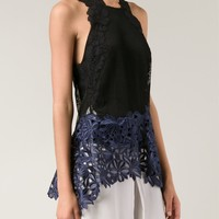 3.1 Phillip Lim Floral Lace Tank Top - Traffic Women - Farfetch.com
