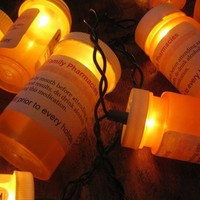 Christmas light prescription bottles for your next by clcort