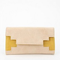Ecote Geo Cutout Checkbook Wallet