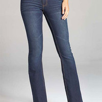 Paris Blues Dark-Wash Bootcut Jean