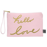 Lisa Argyropoulos hello love pink Pouch