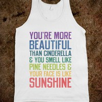 You&#x27;re More Beautiful Bridesmaids Quote (Tank) - Ladies &amp; Gentlewoman