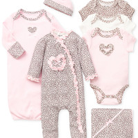 Little Me Baby Girls' Leopard Gift Bundle
