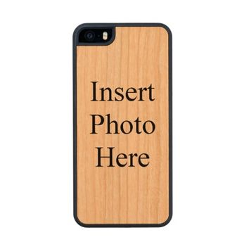 Design Your Own Custom Photo Carved Cherry iPhone 5 Case