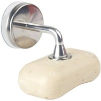 Kikkerland Magnetic Soap Holder w/Suction Cup