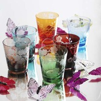 Cherry Blossom Glasses set of 6