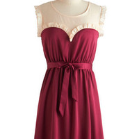Tulle Clothing Ravishing in Raspberry Dress | Mod Retro Vintage Dresses | ModCloth.com