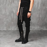 Mens VANDALIQUE Drop Crotch Murray Tapered Trouser at Fabrixquare