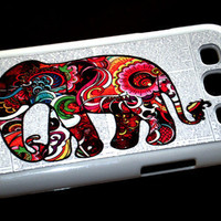 Samsung Galaxy S3 SIII Colorful Elephant Dictionary Page Case Samsung Galaxy S3