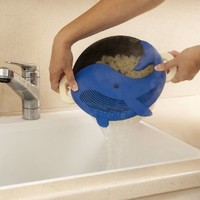 New!!! Plankton Pot Strainer - Food In, Water Out - Blue