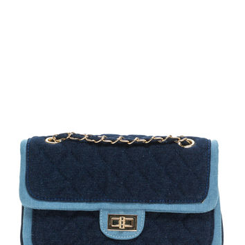 Denim Duty Quilted Bag