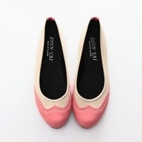 BN Classic Two Tone Ballerinas Ballet Flats Espadrilles Loafers Shoes Oxfords