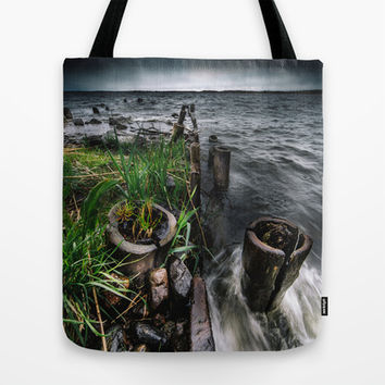The flood Tote Bag by HappyMelvin