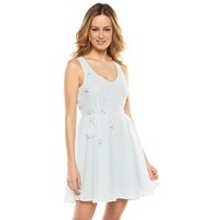 Disney's Cinderella a Collection by LC Lauren Conrad Mesh-Back Dress - Women's