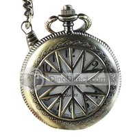 Fashionable Antioxidation Pocket Watch with Sweater Chain - DinoDirect.com