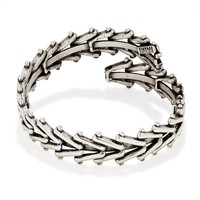 Rafaelian Silver Men's Chain Wrap