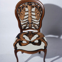 Cavaliero Finn  Sam Edkins: Anatomically Correct Chair White