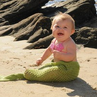 Mermaid Tail Newborn Photo Prop Or .. on Luulla