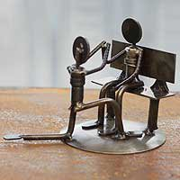Auto parts sculpture - Will You Marry Me - NOVICA