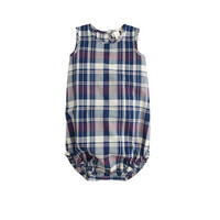 Baby One-Piece In Plaid - crewcuts