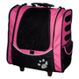 Pet Gear I-GO2 Escort Roller Backpack for cats and dogs up to 15-pounds, Pink $50.24