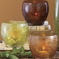 Luna Luminaria Set of 3 Medium Candleholders from Through the Country Door