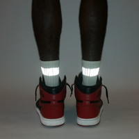 GEAR-018 THIN BAND socks w/3M reflective