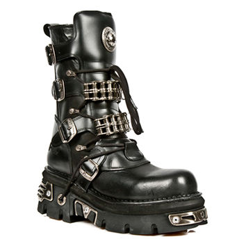 New Rock Boots Style M1037-S1 (Black)