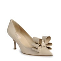 Valentino Patent Leather Pump With Pointed Toe - &amp;#36;180.00