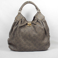 Louis Vuitton Cowhide Single Shoulder Bag Khaki - &amp;#36;206.00