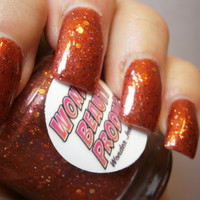 Hot For Teacher - Back To School - Fall Nail Polish - Cinnamon Scented - Full Size Bottle