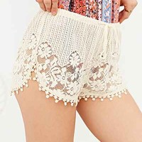 Band Of Gypsies Crochet Dolphin Short-