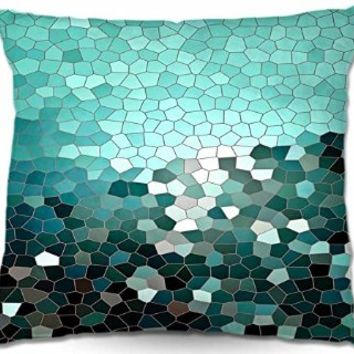 Decorative Woven Couch / Throw Pillow from DiaNoche Designs Iris Lehnhardt Unique Bedroom, Living Room and Bathroom Ideas Patternization V