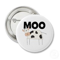 Cow Gifts Pins from Zazzle.com