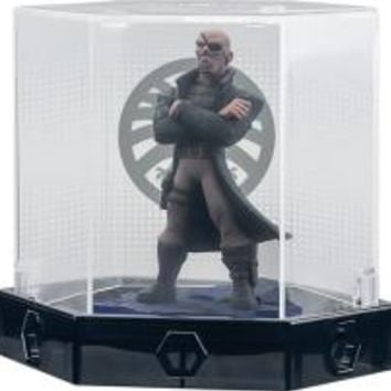 Disney - Disney Infinity: Marvel Super Heroes (2.0 Edition) Nick Fury Figure and Display Case - Multi