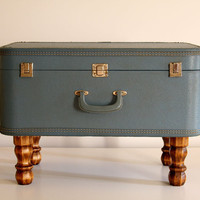 Vintage Suitcase Trunk, Coffee Table