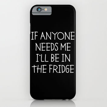 In The Fridge iPhone & iPod Case by Moop