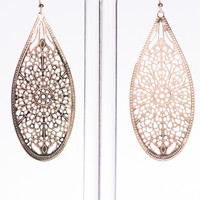Simply Classic Earrings, Gold