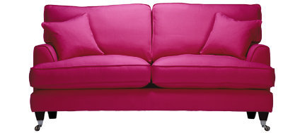 Florence Medium Sofa In Vogue Hot Pink From Sofa Workshop Sit