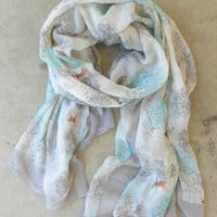 Meadowfield Scarf [3323] - $18.00 : Vintage Inspired Clothing &amp; Affordable Fall Frocks, deloom | Modern. Vintage. Crafted.