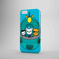 The Octonauts Cartoon And Fish Ship iPhone Case Samsung Galaxy Case KK 3D