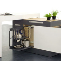 All-Purpose Kitchen Island Inside a 1-Square-Meter Cube | Designs & Ideas on Dornob
