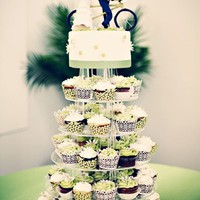 Green Wedding Cakes, Wedding Cakes Photos by Photographix