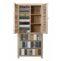 Classic Cupboard in Scrapwood - Office + Storage