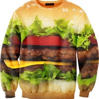 Mr. GUGU &amp; Miss GO :: OUTERWEAR :: Hamburger sweater