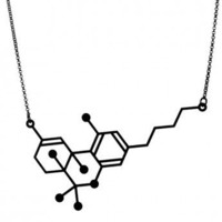 THE THC NECKLACE // AROHA SILHOUETTES