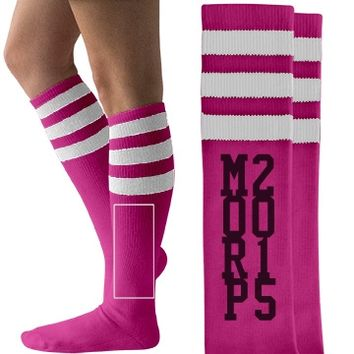 Fun Custom Morp Socks for Seniors